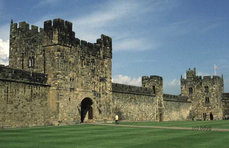 harry potter und der stein der weisen alnwick castle film location drehort filmlocation filmdrehort